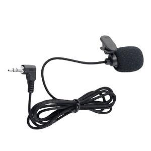 mini clip mikrofon microphone klinke stereo jack f r. Black Bedroom Furniture Sets. Home Design Ideas