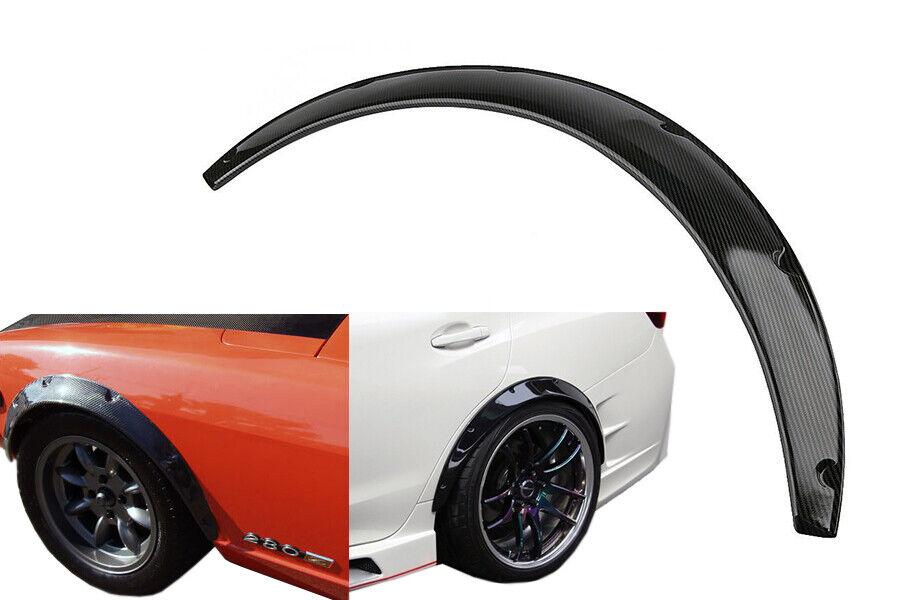 body tuning 2x Radlauf Kotflügel Verbreiterung CARBON für Suzuki Vitara Cabrio