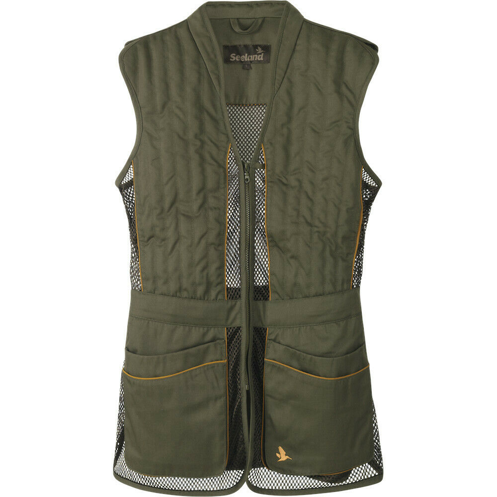 Seeland Skeet 11  Shooting Vest Waistcoat In Green  the most fashionable