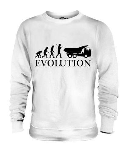 Skip Fahrer Evolution des  Herrenchen Unisex Pullover Top Geschenk Konstruktion