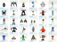 """thumbnail 1 - Robots and Droids for 1:18 - 3 3/4""""  Action Figures - Choose the ones you want"""