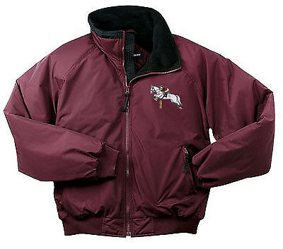 HUNTER JUMPER cavallo embroiderosso jacket ANY Coloreee