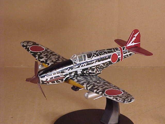 Modellino Aereo Die Cast Kawasaki ki-61 Hien 55th Flight Regiment Japan 1//72