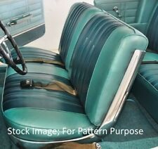 Excellent 1966 66 Chevrolet Impala Black Bench Seat Cover Upholstery Theyellowbook Wood Chair Design Ideas Theyellowbookinfo