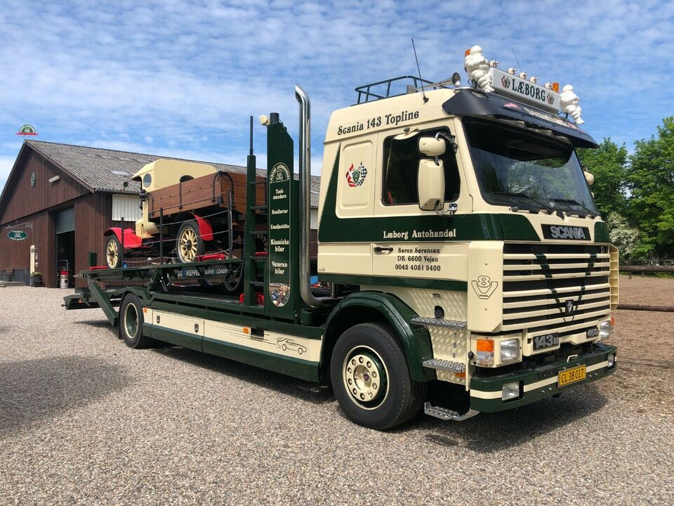 Scania R 143/450 Interc., årg. 1995, km
