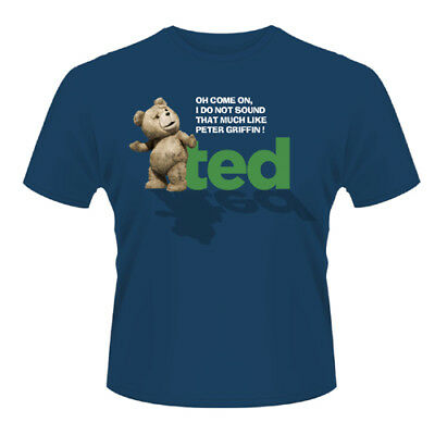 Brillante Ted - Oh, Come On T-shirt Unisex Tg. L Phm Rapida Dissipazione Del Calore