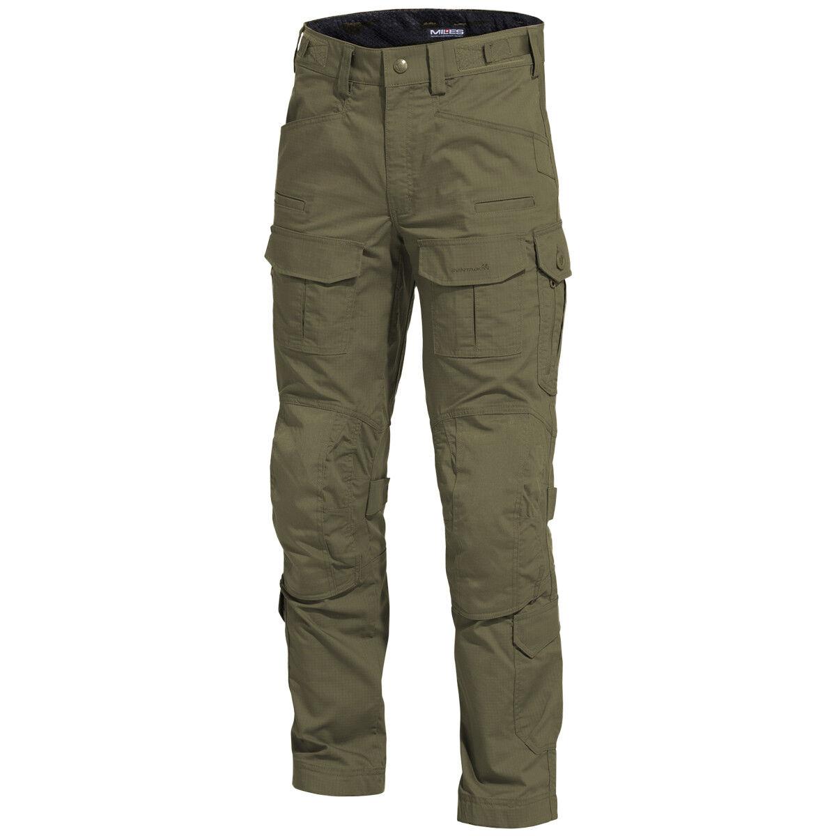 Pentagon Wolf Combat Pants Military Army Teflon Cordura Comfortable Ranger Green