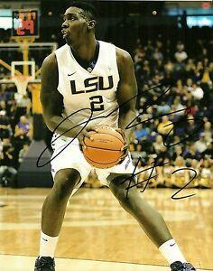 Autographs-original College-ncaa Johnny O'bryant Hand Signed Lsu Tigers 8x10 Photo W/coa