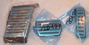 Audi-4L-Q7-FEO-Stainless-Steel-Accelerator-Pedal-Brake-pedal-amp-Footrest-Set