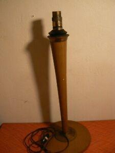 ancien pied de lampe mazda art deco