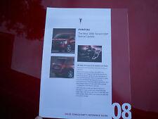 2008  Pontiac Torrent GXP Salesman Special Update