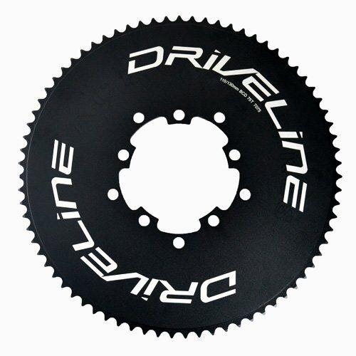 Fast Shipping Driveline AL7075 Road Bike Bicycle TT Chainring 75T, BCD 110 130mm   | Optimaler Preis