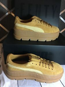 fenty puma cleated creeper suede