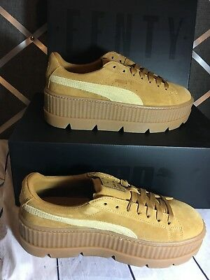 brand new de3f7 2f134 NIB PUMA FENTY by Rihanna CLEATED CREEPER SUEDE Women's Sneakers | eBay