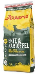 Josera-Exklusiv-Ente-amp-Kartoffel-15-kg-Hundefutter-getreidefrei