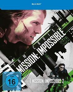 Missione: Impossible-parte: 2 [Blu-Ray/Limited Steelbook/Nuovo/Scatola Originale] Tom Cruise, vin