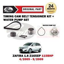 Para Opel Zafira 1.6 z16xep 2005-2009 Nuevo Calendario Cam Cinturón + Kit Bomba De Agua