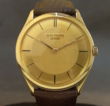 18K SOLID GOLD 1951 PATEK PHILLIPE Ref. 2507 10-200 18J SWISS MEN WATCH W/DOCS!