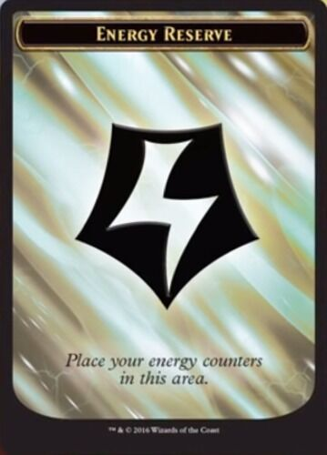 English Kaladesh MTG Magic 10x Energy Token NM-Mint
