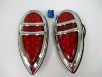 1938 38 1939 39 Lincoln Zephyr Teardrop Led Tail Lights