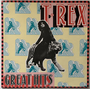 T-REX-GREAT-HITS-LP-EMI-UK-1972-EX-CONDITION-PRO-CLEANED