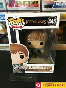 THE-LORD-OF-THE-RINGS-SAMWISE-GAMGEE-FUNKO-POP-VINYL-FIGURE-445-NEW-PROTECTOR
