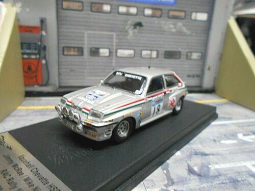 Vauxhall Chevette HSR 2300 Rallye RAC gb 1980 #18 mcrae castrol SCA Trofeu 1:43