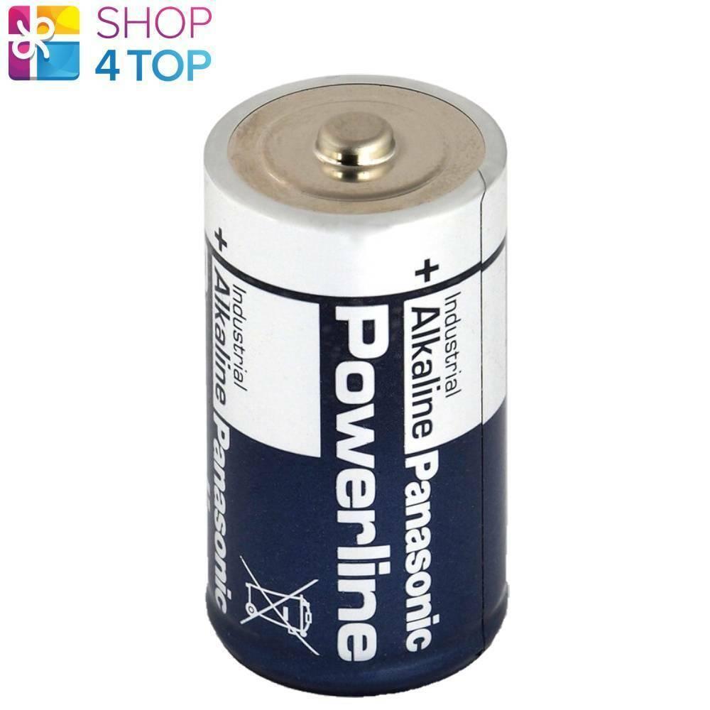 Panasonic Powerline Industrial D lr20 Alkaline Batteries mn1300 am1 1.5v NEW