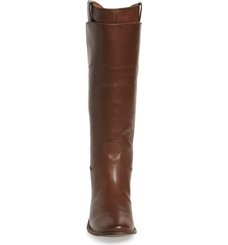 New in Box FRYE damen Paige Tall Riding Stiefel Dark Dark Dark braun Calf Shine 6.5 M   388 e93e10