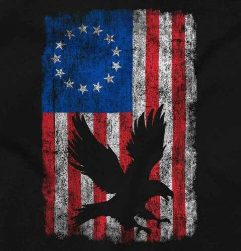 Betsy Ross United States Of American Flag USA Mens T-Shirts T Shirts Tees Tshirt