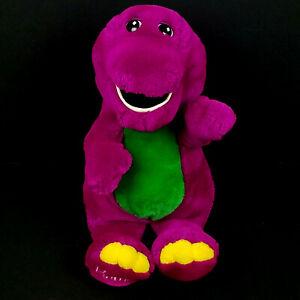 Vintage 90s Barney Plush Backyard Gang Purple Dinosaur 10 ...
