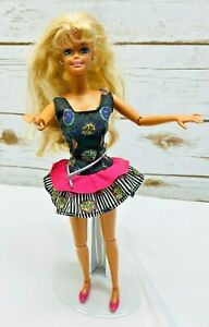 MATTEL-BARBIE-Doll-Articulated-Elbows-amp-Knees-amp-Ankles-Blonde-Hair-12-034-Tall-Used