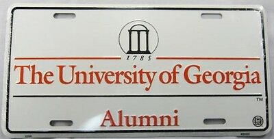 The University Of Georgia Alumni Metal License Plate Uga