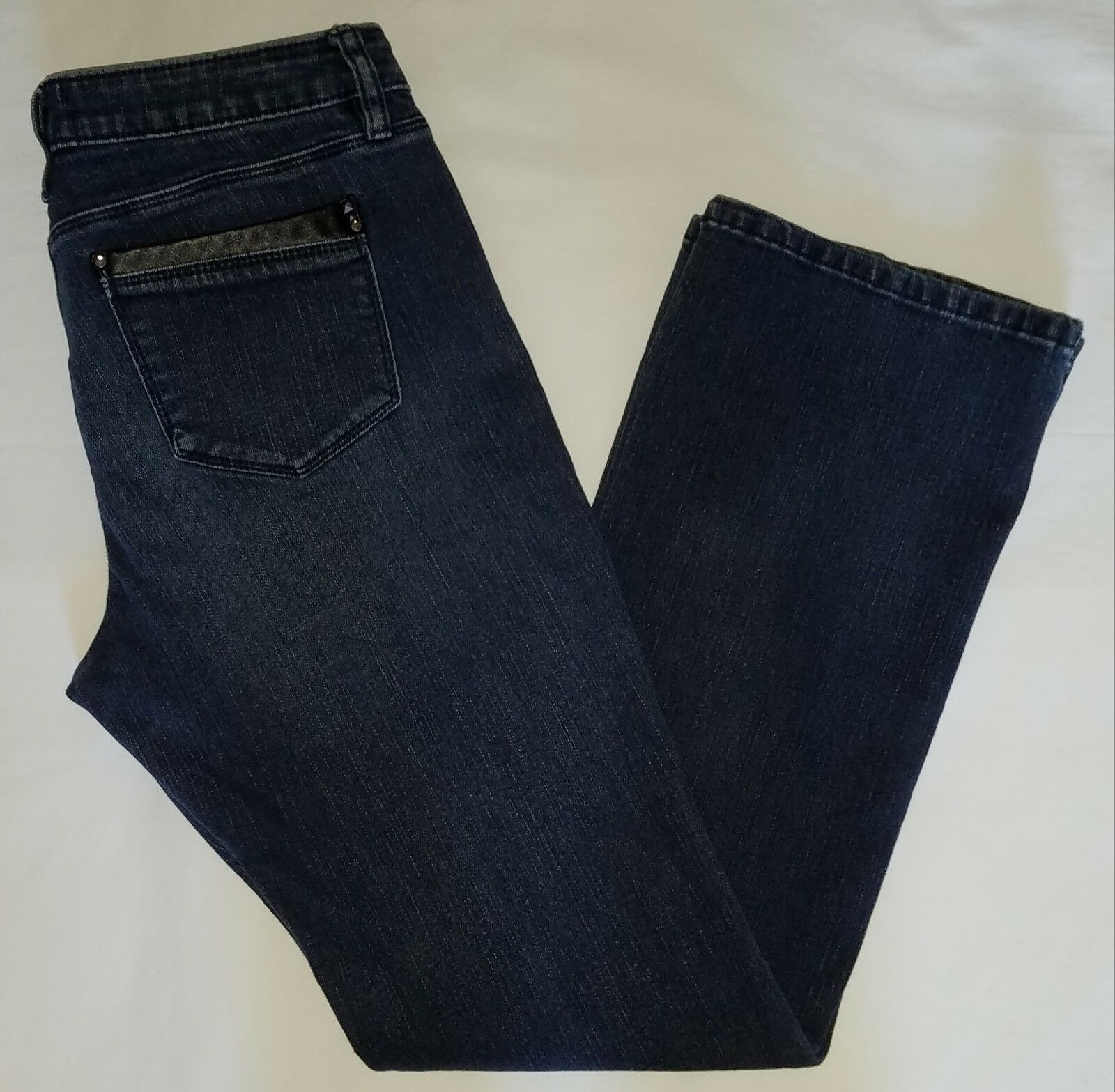 Womens apt. 9 baby boot modern style denim jeans size 6