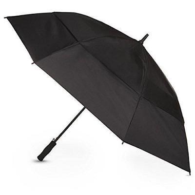5f3b6cd7f863 Totes® sport Auto Open Black Golf Size Stick Umbrella 60