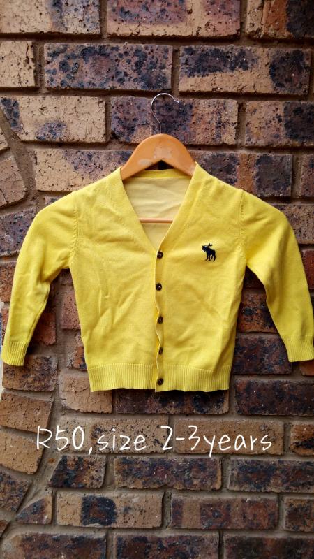 Kids open-button cotton thread clothes