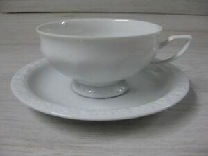 Rosenthal classic Maria weiß mit Untertasse Kaffeetasse 0,20 L