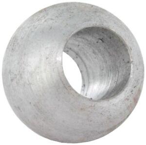 Massivkugel Annietkugel Stahl Dm = 13 mm mit Durchgangsbohrung 6 mm #1286