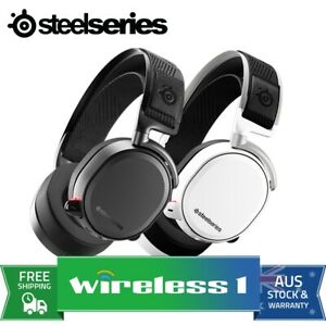 Steelseries Arctis Pro Gaming Headset High Fidelity Audio - White/Black