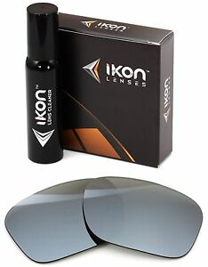 156642e59c8 Polarized IKON Replacement Lenses For Costa Del Mar Inlet - Silver ...