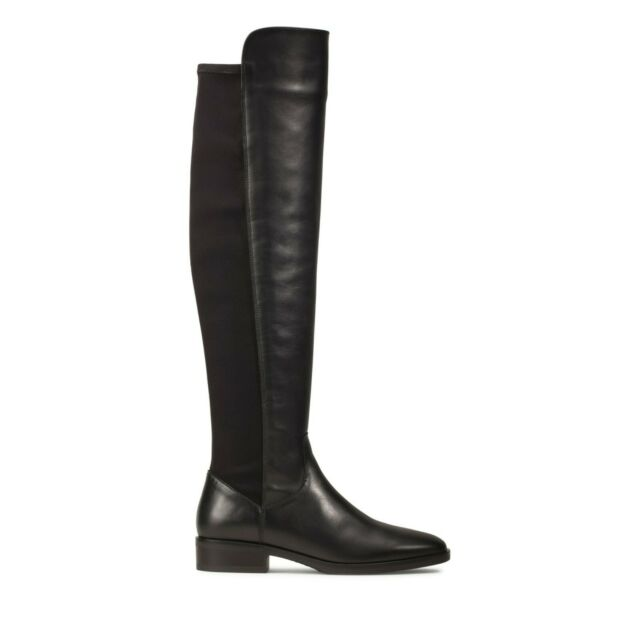BOOTS Caddy Belle 7 UK Black Leather