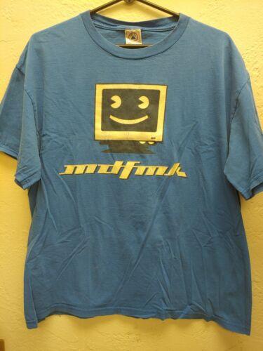 MDFMK Revolution Now Tour 2000 Vintage Blue T-Shir
