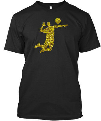 Search For Flights Golden Volleyball Stylisches T-shirt