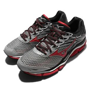 Mizuno-Wave-Enigma-6-VI-Grey-Red-Black-Men-Running-Shoes-Sneakers-J1GC1602-62