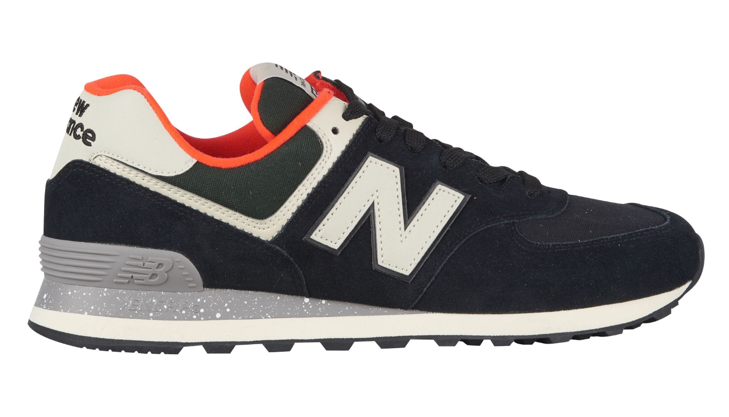 ML574HVD-BLK/WHITE NEW BALANCE CLASSICS TRADITIONNELS SHOES