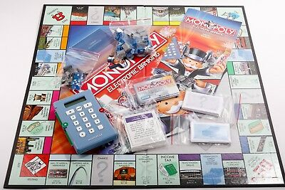 U-pick 2011 Monopoly electronic banking replacement parts pieces