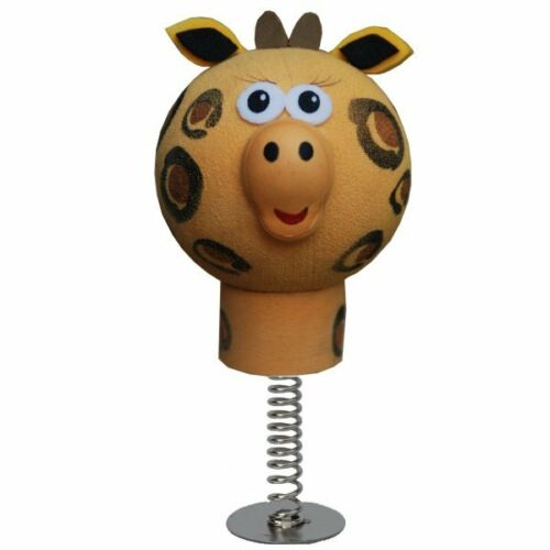 Cute Giraffe perfect for sticking on your Desk or Dashboard WOBBLER