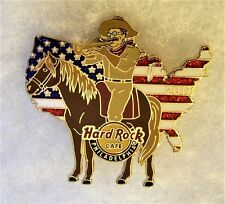 HARD ROCK CAFE PHILADELPHIA TEDDY ROOSEVELT PLAYING TRUMPET USA FLAG PIN # 94230