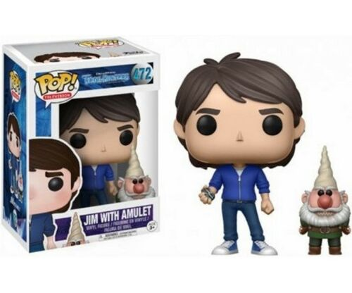 FUNKO POP! EXCLUSIVE TROLLHUNTERS JIM WITH AMULET VINYL FIGUR IN BOX #472
