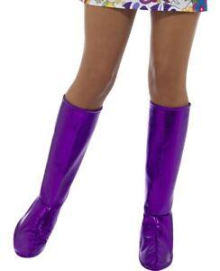 donna-anni-039-60-1960s-70-Costume-COPRISTIVALI-GO-Viola-Da-Smiffys